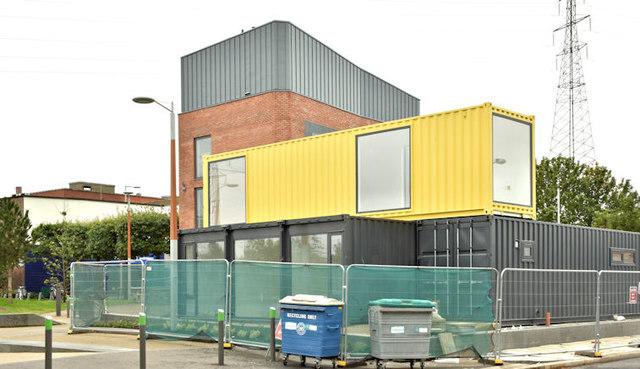 Connswater pods, Belfast (September 2017)