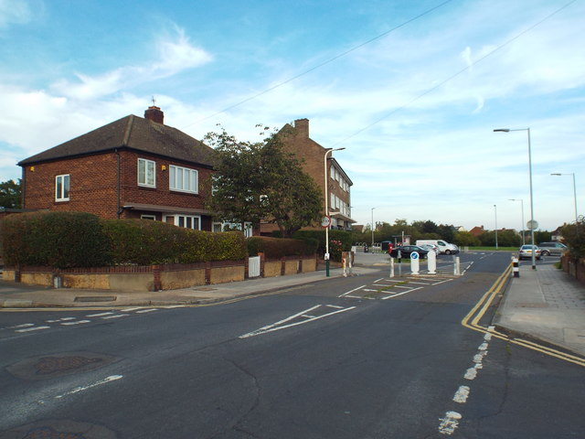 Central Drive, near Hornchurch