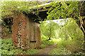 SE8664 : Wharram Percy trackbed & bridge by Richard Croft