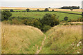 SE8664 : Wharram Percy - Centenary Way by Richard Croft