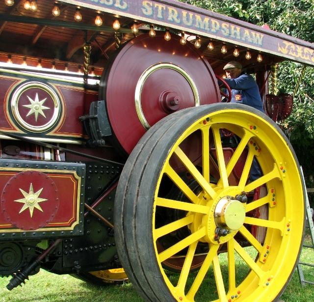 "Burrell Showman's Engine ""Princess Royal"" - detail"