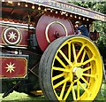 "TG3406 : Burrell Showman's Engine ""Princess Royal"" - detail by Evelyn Simak"