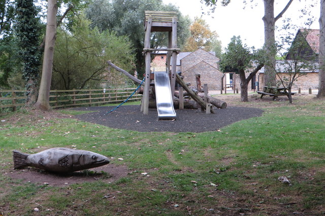 Playground at Bromham Mill