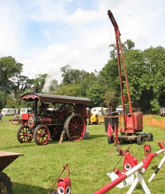 """Burrell Steam Engine """"Spitfire"""""""