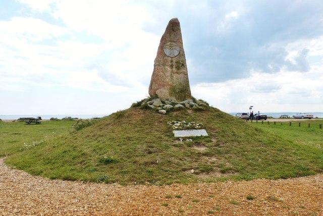The COPP memorial on Hayling Esplanade