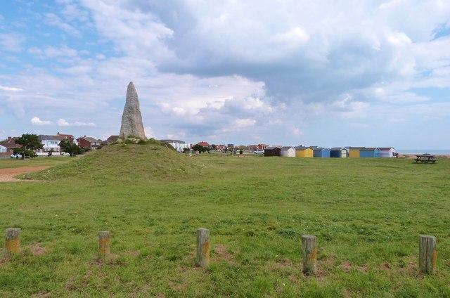 The COPP memorial on South Hayling Esplanade