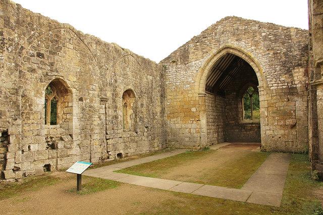 St.Martin's church ruins