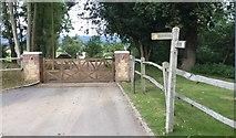 TQ0215 : Wey-South Path at Quell Farm by Chris Thomas-Atkin