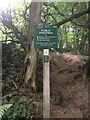 SK3083 : Peak & Northern Footpaths Society sign #477 by Graham Hogg