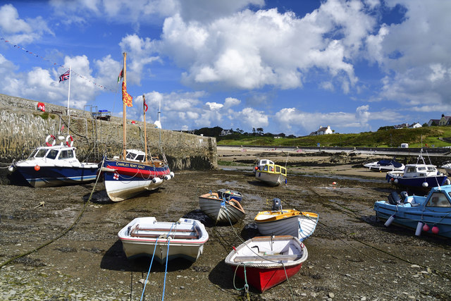 Cemaes Bay Harbour and Breakwater