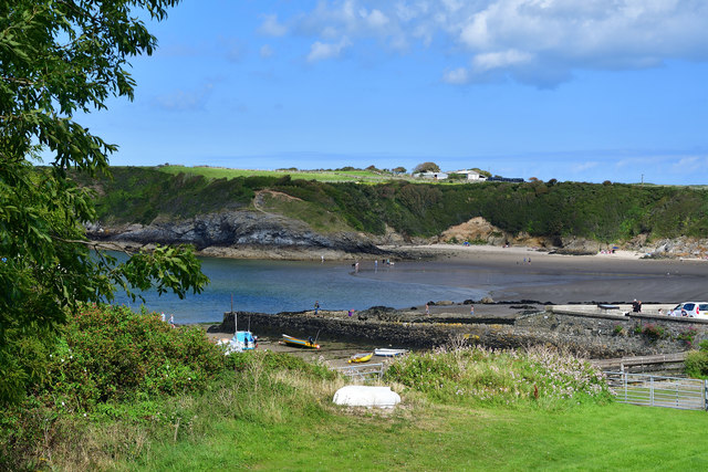 View across Cemaes Bay