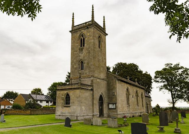 St Martin's church, Stubton