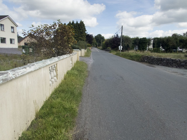 Road outside Ballymakeery