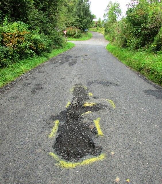 Road repairs needed!