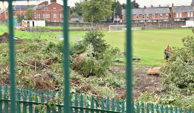 Wilgar Park football ground, Belfast (September 2017)