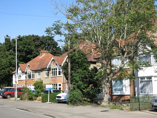 Mill Road, opposite Money Lane
