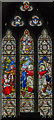 SK8748 : East window, St Martin's church, Stubton by Julian P Guffogg