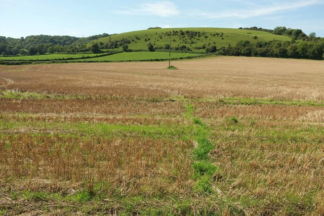 Footpath to Weam Common Hill