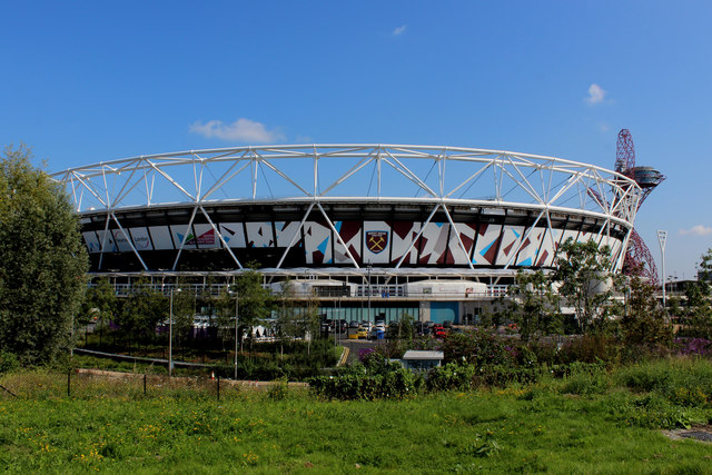 London Stadium and Home of West Ham United