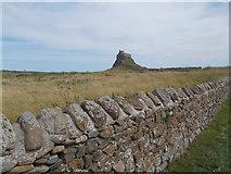 NU1341 : Lindisfarne Castle by norman griffin