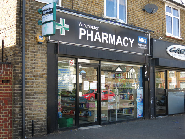 Winchester Pharmacy, Swan Road