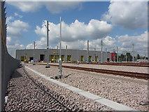 TQ2182 : Elizabeth Line depot at Old Oak Common by Gareth James