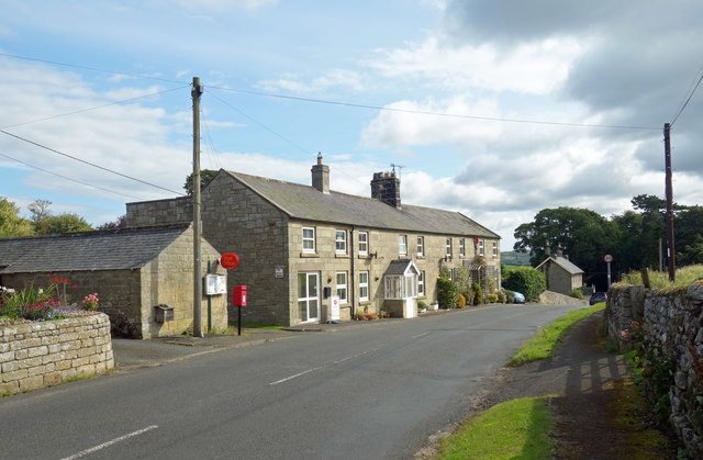 Post Office and Houses, Hepple