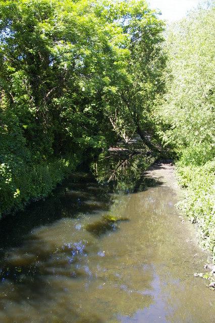 Dollis Brook at Hendon Lane