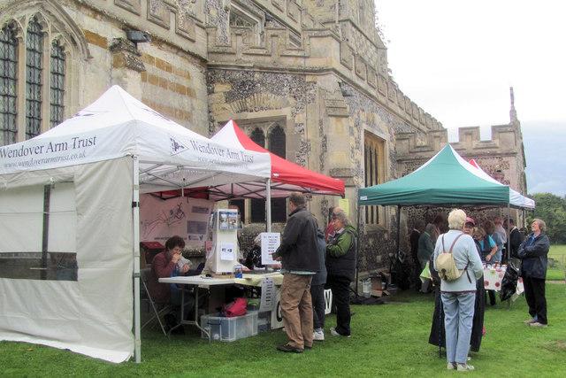 The Wendover Arm Trust Stalls at Drayton Beauchamp Church