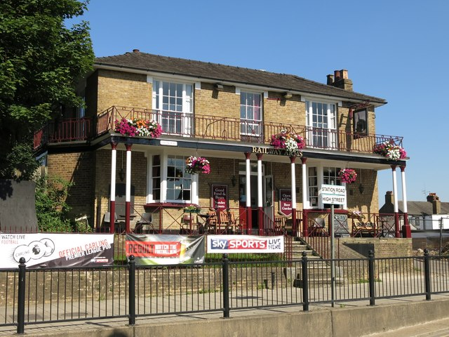The Railway Arms, Station Road (2)
