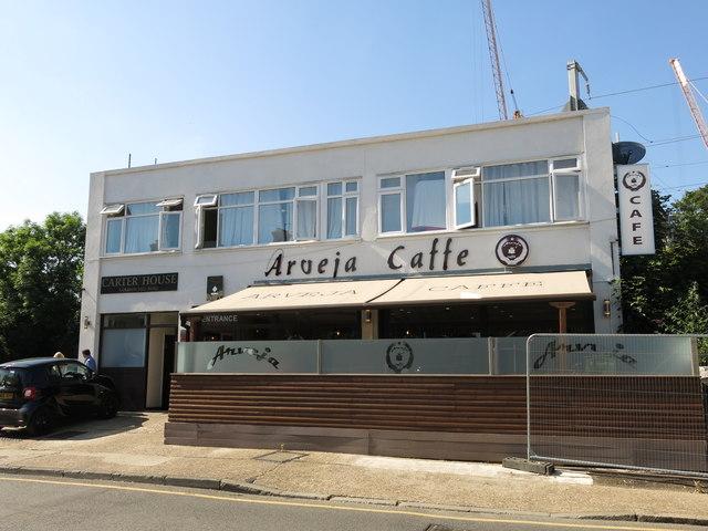 The Arveja Caffe, Colham Mill Road