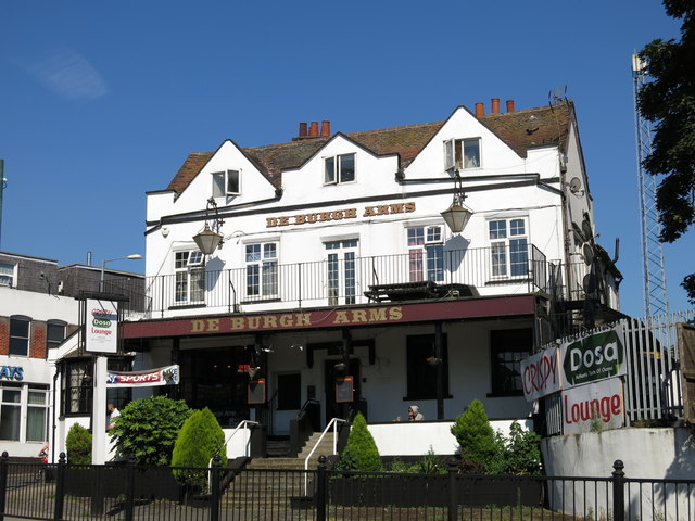 The De Burgh Arms, High Street / Station Approach