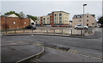 SU1585 : Vacant site between Haydon Street and Aylesbury Street in Swindon by Jaggery