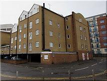 SU1585 : Isambard Place, Swindon  by Jaggery