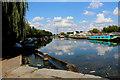 TQ3489 : River Lea Navigation at Tottenham Hale (2) by Chris Heaton