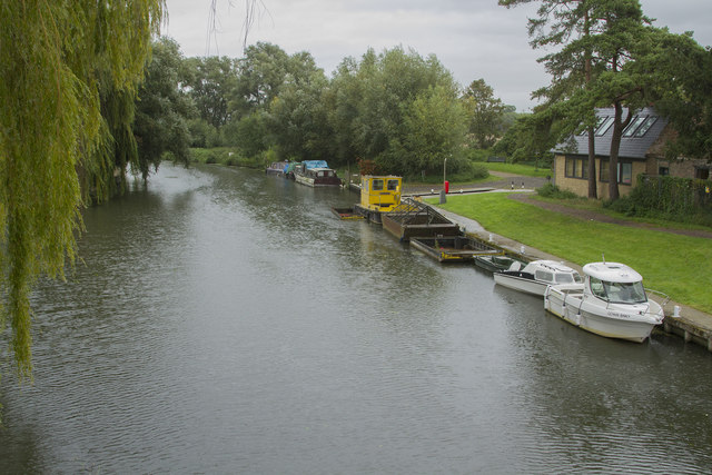 From the bridge at Clayhithe