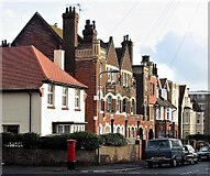 TQ7407 : Buildings in Dorset Road South, Bexhill by Patrick Roper