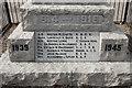 NJ4804 : In memory of the fallen by Bill Harrison