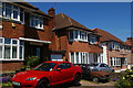 TQ2389 : Houses on Finchley Lane, Hendon by Christopher Hilton