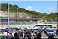 TR3341 : Waiting to embark - Dover Eastern Docks by M J Roscoe