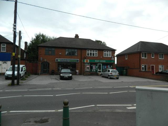 Pharmacy and Post Office, Blythe Bridge