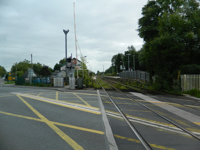 Railway station, Blythe Bridge
