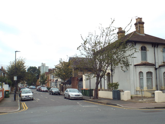 Knox Road, near Forest gate
