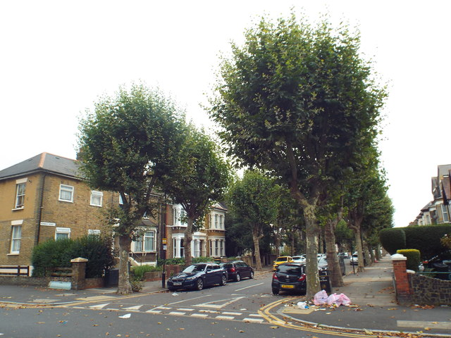 Norwich Road, near Forest Gate