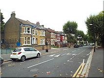 TQ4085 : Earlham Grove, near Forest Gate by Malc McDonald