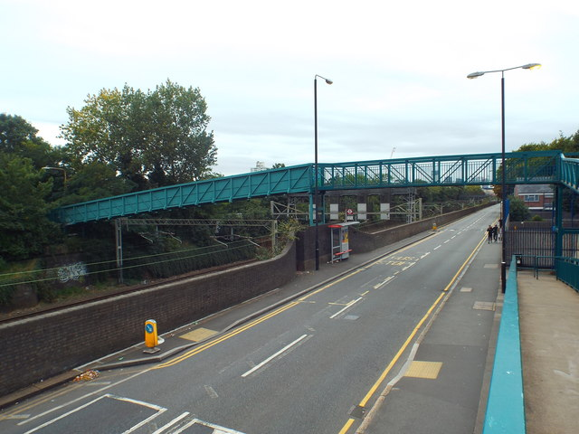 Bridge over Forest lane, near Forest Gate