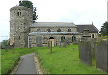 SJ9743 : All Saints' Church, Dilhorne by John Lord
