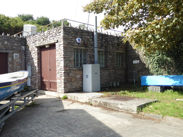 Sewage pumping station, Salcombe