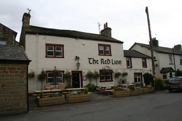 Earby: The 'Red Lion'