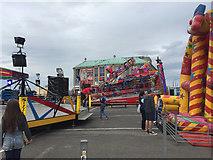 SY6878 : Carnival Week funfair, Weymouth Quay, early evening by Robin Stott